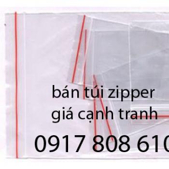 Túi zipper giá rẻ
